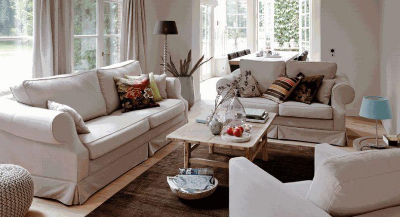 Warme Gezellige Woonkamer : Warme materialen zorgen voor een knusse woonkamer sfeer en living